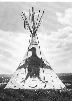 CROW, Tipi with Thunderbird
