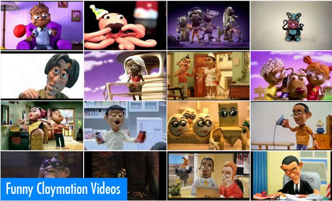 15 Funny Claymation Movies and tv commercials videos - Clay Animation. Read full article: http://webneel.com/claymation-movies-clay-animation   more http://webneel.com/animation   Follow us www.pinterest.com/webneel