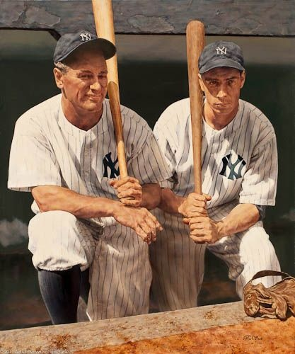 Ron Stark  Gehrig and Dimaggio
