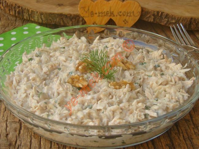 Tavuklu Kereviz Salatası Resimli Tarifi - Yemek Tarifleri