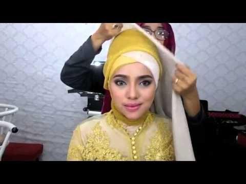 3 Styles Hijab Tutorial Wisuda Kebaya 2015 - YouTube