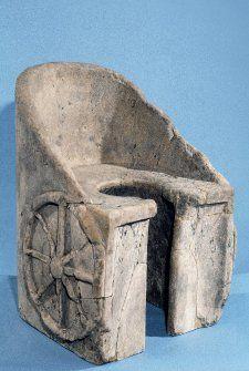 Letrina de los baños de Caracalla en Roma, 100-300.  #Esmadeco.