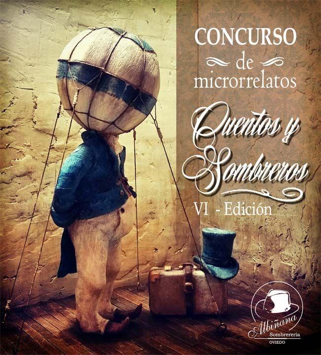 """VI Concurso de Microrrelatos """"Cuentos y Sombreros"""" organizado por Sombrerería Albiñana"""