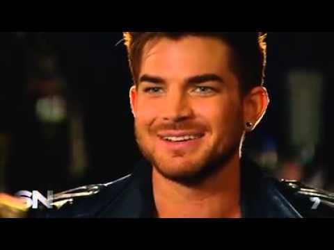 Sneak peek of the Queen + Adam Lambert interview of Sunday Night Channel 7 on the upcoming tour. Adam Lambert talking about the upcoming tour.