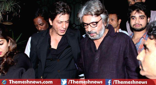 Shah Rukh Khan Established Himself as Big Celebrity of Bollywood Say Sanjay Leela Bhansali