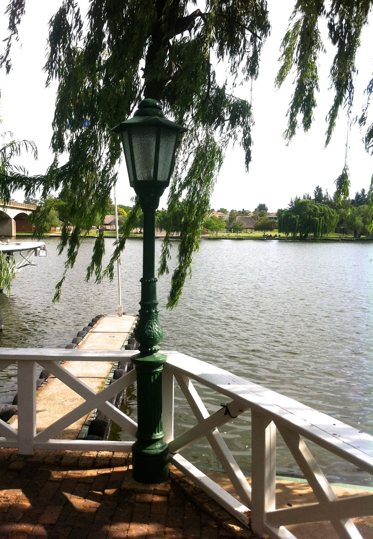 View of the Vaal River from Stonehaven on Vaal http://www.n3gateway.com/the-n3-gateway-route/vaal-meander.htm
