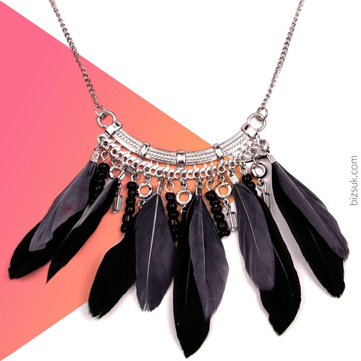#feather #necklace #bizsukcom