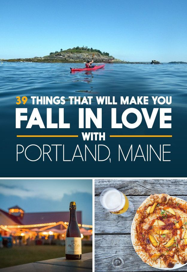 Just because it doesn't have its own TV show doesn't mean you shouldn't go there. Things to love about Portland, MAINE