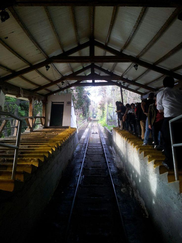 Funicular. Cerro san cristobal
