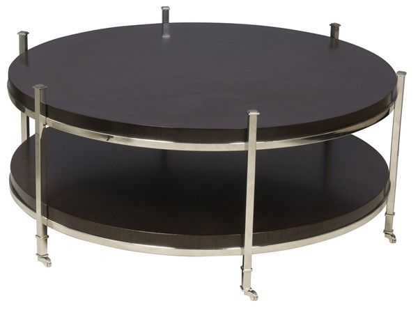 Vanguard Furniture - Our Products - W387C-ES Gibson Round Cocktail Table