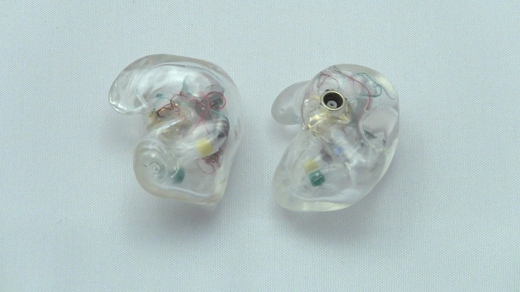 Get your in ear monitors customized today by www.inearcustom.com for only $119 In Ear Custom Clear LiveWire Trips reshell customized IEM dual angle    http://www.inearcustom.com