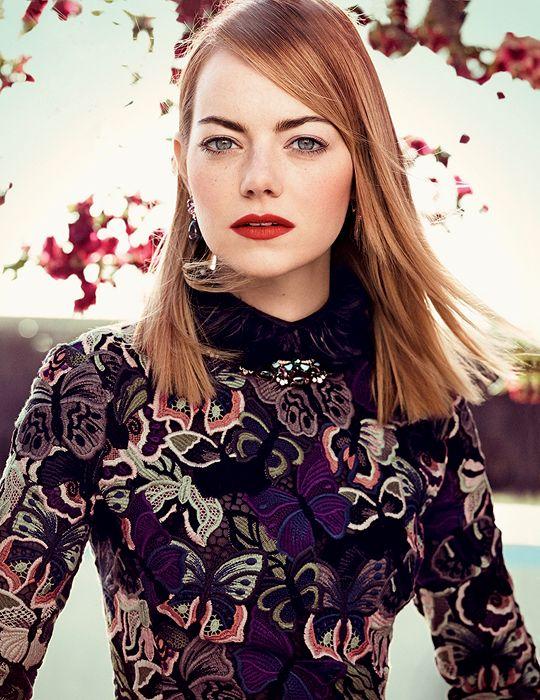 Emma Stone for Vogue US (2014)