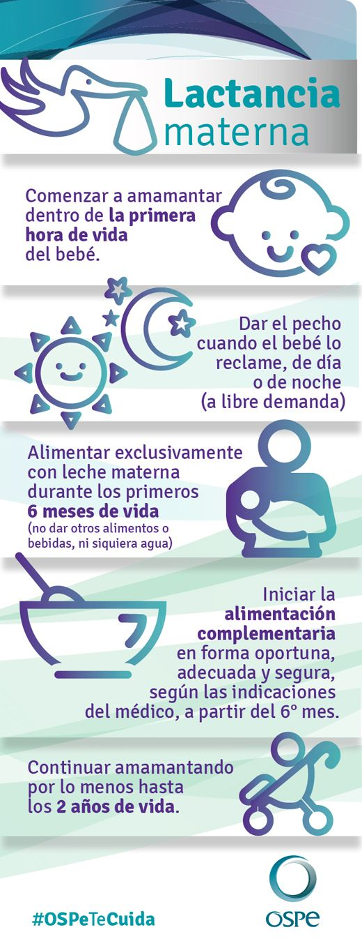 Consejos sobre la #lactancia materna #Prevencion #OSPe