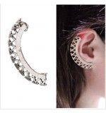 Cercel tip ear cuff, model fantezie stil roman, prindere pe ureche