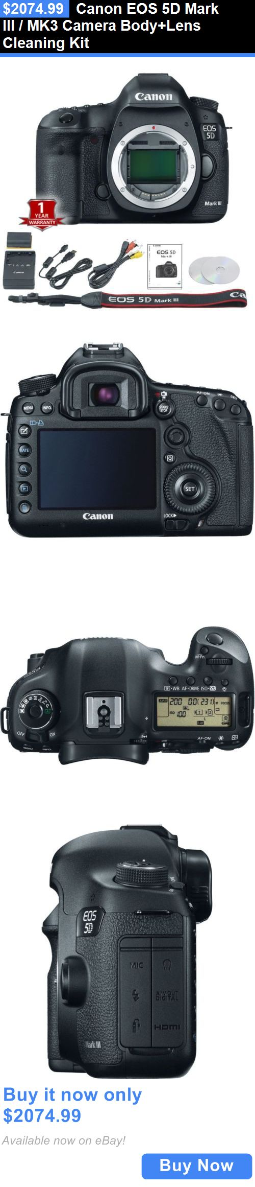photo and video: Canon Eos 5D Mark Iii / Mk3 Camera Body+Lens Cleaning Kit BUY IT NOW ONLY: $2074.99