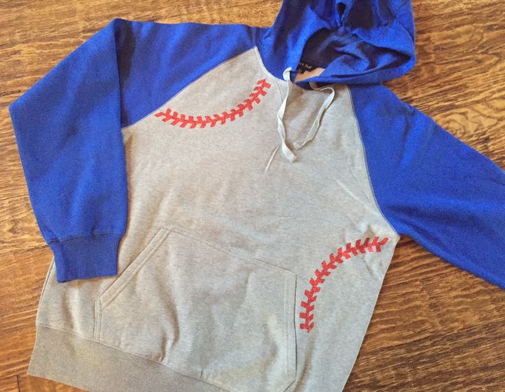 Baseball Alley Designs - Baseball Seams Hooded Raglan Unisex Fleece, $38.00 (http://baseballalley.net/baseball-seams-hooded-raglan-unisex-fleece/)