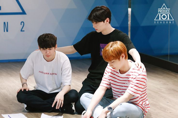 produce 101 season 2 hands on me team ong seongwoo hwang minhyun park jihoon