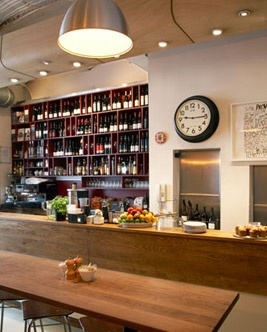 The Providores & Tapas Room.  5 minutes from the office, an obvious Marylebone choice