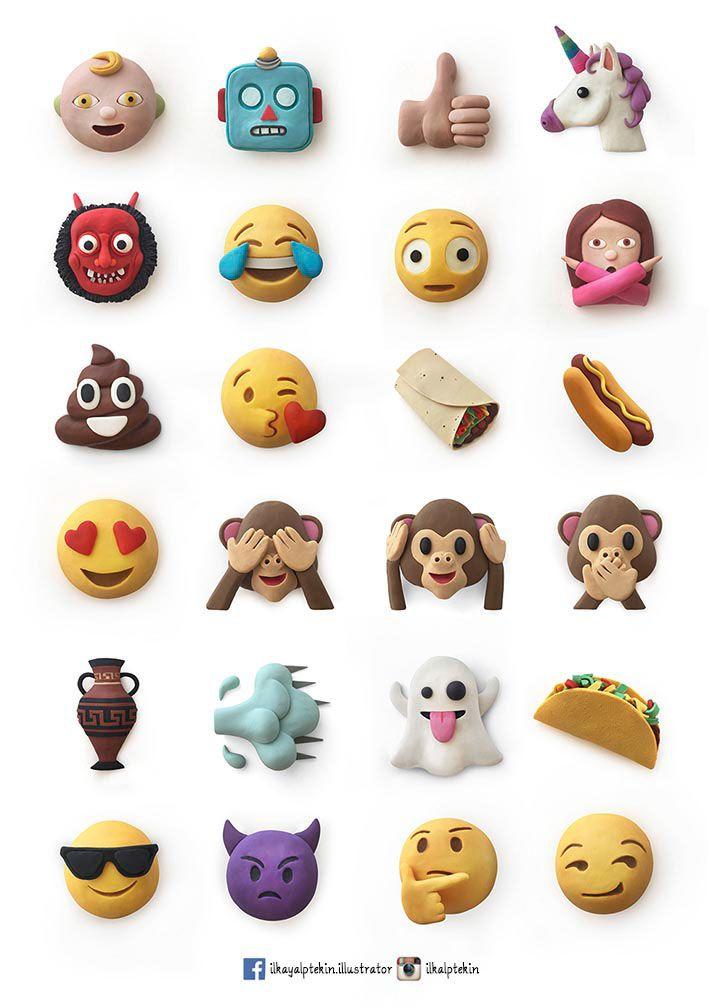 https://www.behance.net/gallery/29980315/Clay-Emojis