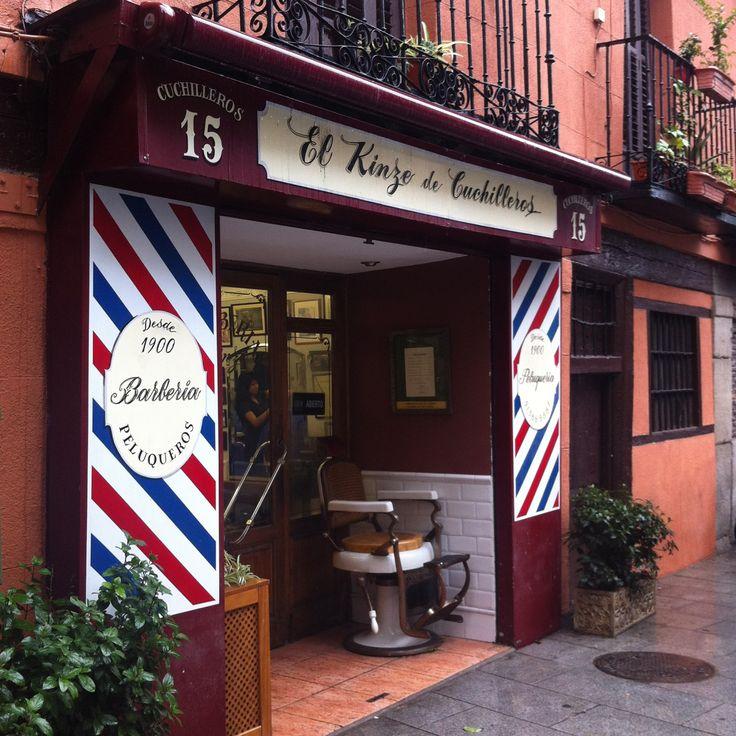 Barberia in Madrid