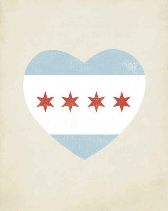 http://www.etsy.com/listing/76543408/chicago-flag-heart-8x10-art-print