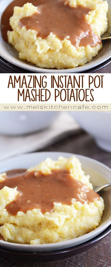 These Instant Pot mashed potatoes are the best potatoes on the planet! The most amazing part: the mashed potatoes can stay warm for HOURS before serving.