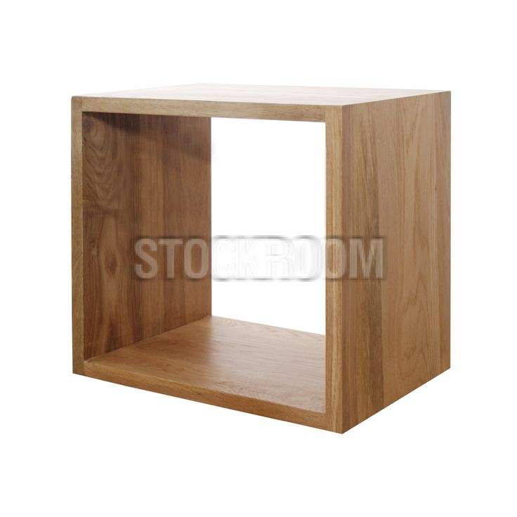 1000 images about stockroom coffee tables on pinterest for Solid wood cube side table