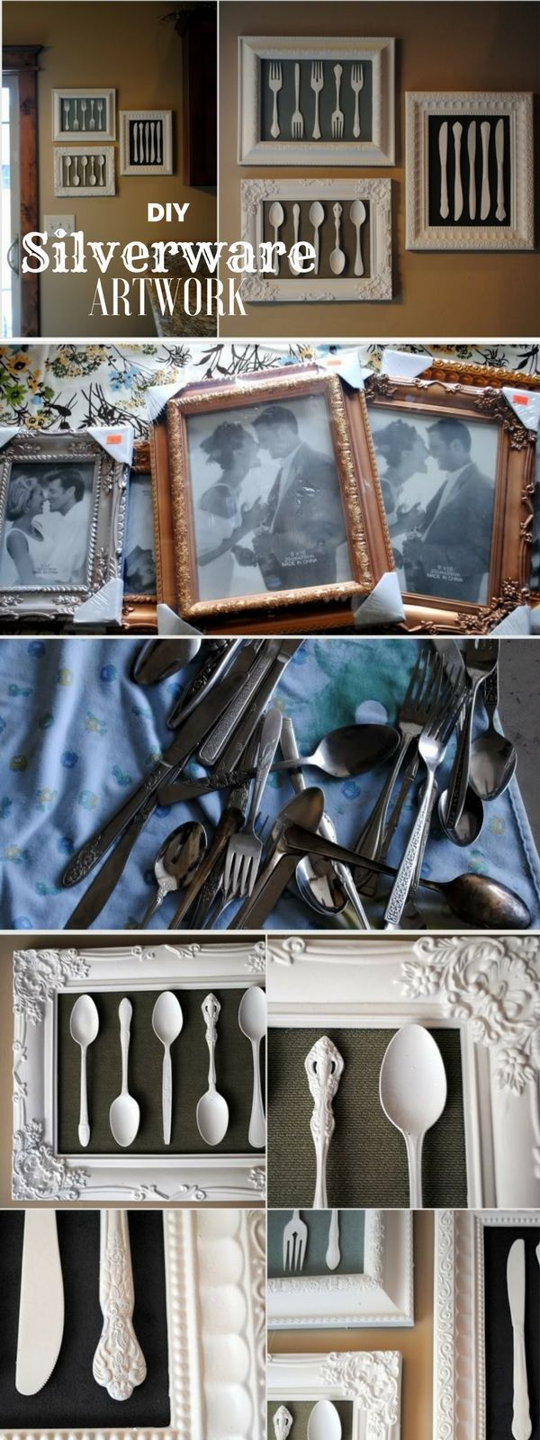 Check out the tutorial: #DIY Silverware Artwork @istandarddesign