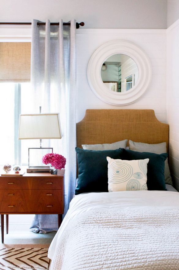 7 Inexpensive Ways To Spruce Up Your Guest Room This Season Wood Texture Neutral Bedrooms And