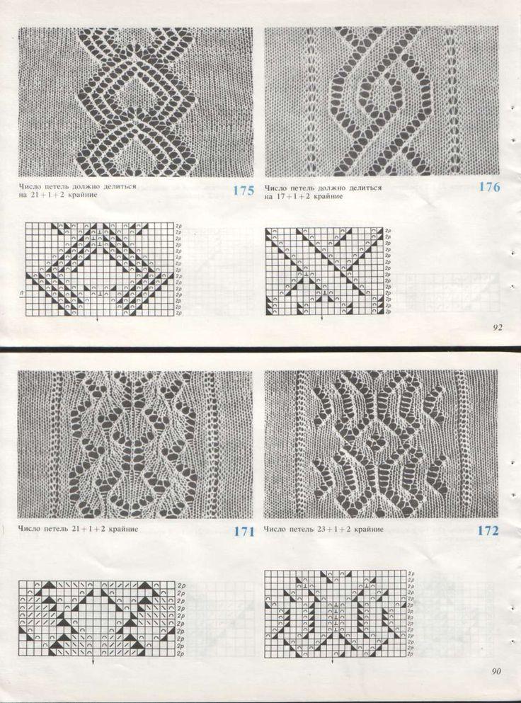Схемы вязания на машине картинки