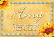 the name amy | Amy Name Meaning - Amy name Origin, Name Amy, Meaning of the name Amy ...