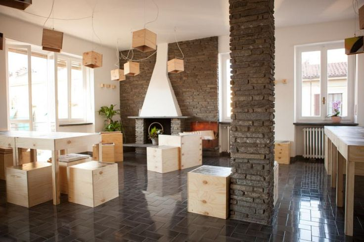 portmanteau | Live the city, generate culture! Guest House Portmanteau in Turin - great place to stay with an inspiring interior #Guest #House # Turin # Portmanteau