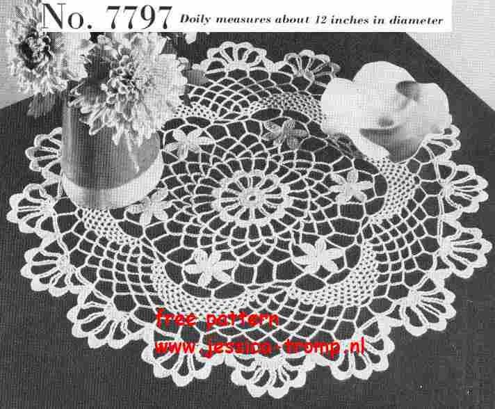 Mejores 578 imágenes de Crochet Doilies & Mandalas en Pinterest ...