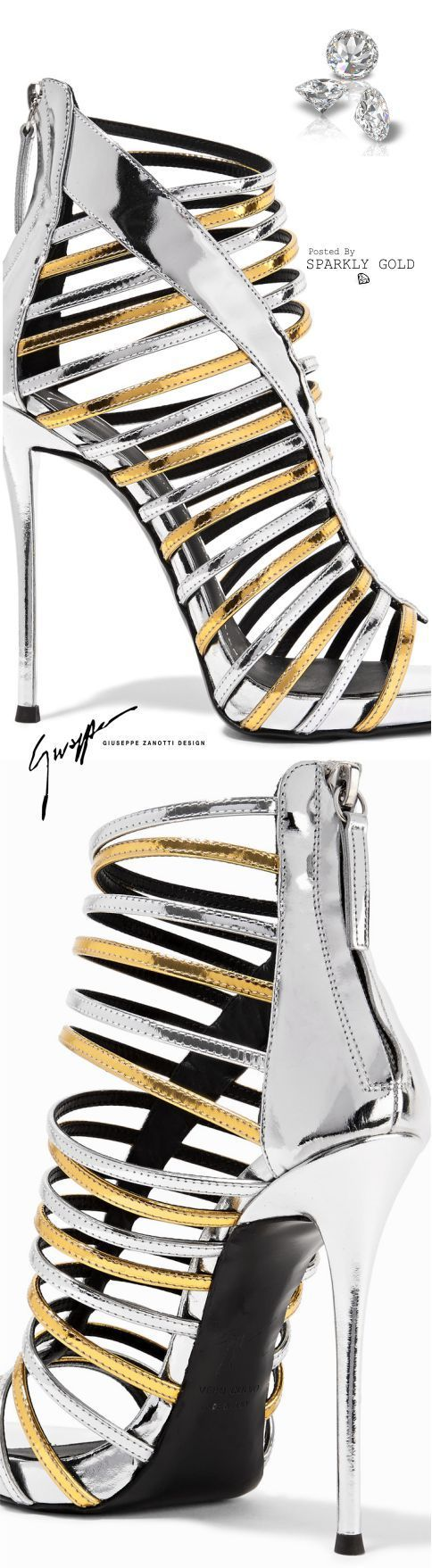 Find More at => http://feedproxy.google.com/~r/amazingoutfits/~3/0OXIo1StlhY/AmazingOutfits.page #giuseppezanottiheelssilver