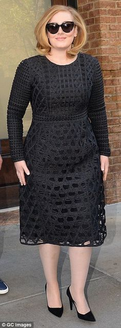 'It's a little bit annoying that men don't get asked that question as much': Singer Adele hits back atcriticism she's received for her larger size compared to skinny pop stars