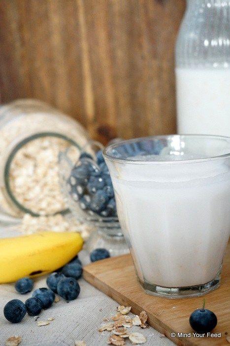 Rijstmelk zelf maken - Mind Your Feed