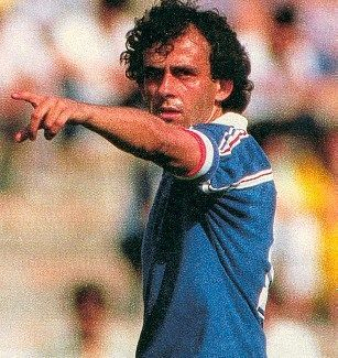 Group stage,Michel Platini on picture,France vs Canada 1-0