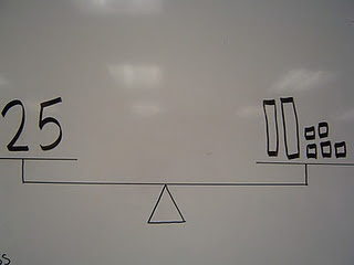 Balance the number with tens and ones for Number of the Day.