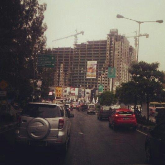 Cloudy Afternoon in Bekasi City..