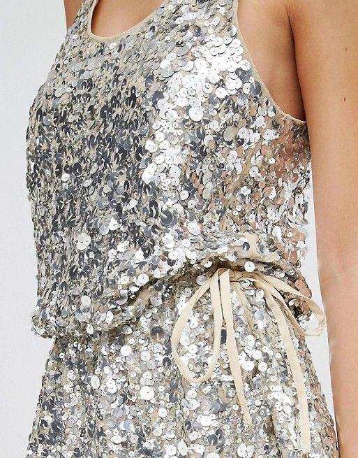 Walter Baker | Walter Baker Anita All Over Sequin Mini Dress