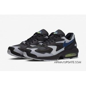 """competitive price b299a f3ee1 Nike Air Max 2 Light """"Thunderstorm"""" AO1741-002 Black Thunderstorm-Wolf"""