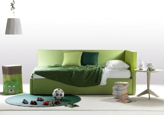 Summer D Bed (spring 2012 collection), 100% hand-made by Italian Brianza masters in Meda.  From children's rooms, to the guest room, and finally the master bedroom, this new Berto bedroom collection is always custom made.