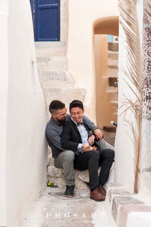 Photo by:@Studio Phosart Wedding Planner:@Pride gay Weddings Events Specialist In Greece #justmarried #perfectday # #mrandmr #gaycouple #gaycouples #samelove #weddingphoto #weddingphotoshoot #weddingphotographers #gaywedding #gayweddings #lgbt #lgbta #lgb #weddingtime #weddingphotos #weddingphotoinspiration #weddingstyle #happycouple #sunset #celebratelove #new #gaybie #groomsmile #preweddingphotoshoot #gayweddinginsantorini #santorinigreece