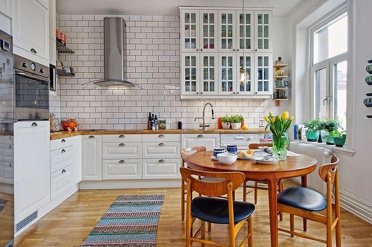 15 cocinas blancas que vas a querer en tu casa