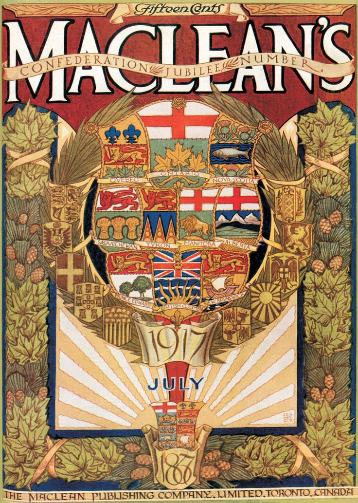 How Maclean's marked Canada's anniversary over the last century • Looking back at how the magazine celebrated our country on past anniversaries | Maclean's • June 30, 2017