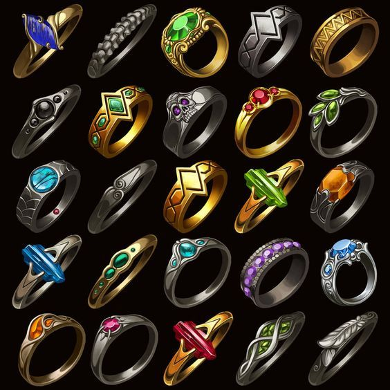 Tier one and two magic rings