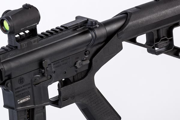 Bump Fire Systems were invented, patented and develop by Slide Fire, an American manufacturer of the patented bump fire stock.  Their Bump Fire System allows shooters to safely and accurately fire as quickly as desired.