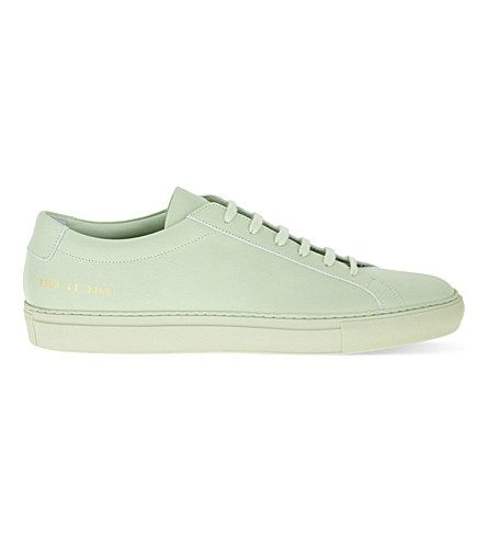 COMMON PROJECTS Original Achilles Low-Top Leather Trainers. #commonprojects #shoes #trainers