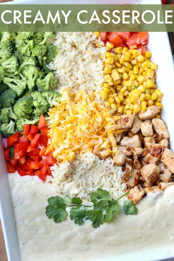 Chicken Broccoli Rice Casserole Valentina S Corner Chicken Broccoli Chicken Broccoli Rice Casserole Easy Chicken Recipes