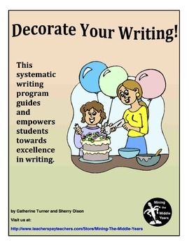 This systematic writing program guides and empowers students towards excellence in descriptive writing.  These step-by-step lessons are a complete writing program that teach students four specific stylistic tools to incorporate into their descriptive writing: a.